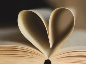 Book with Heart Pages
