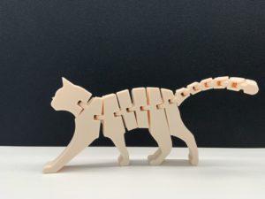 3D Flexi Cat